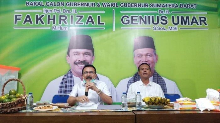 Fakhrizal-Genius Umar Diusung Partai Golkar dan NasDem di Pilgub Sumbar, PKB: Tarik Ulur di DPP
