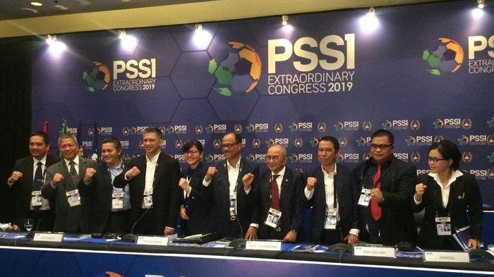 Berikut Ini Susunan Lengkap Exco PSSI Periode 2019-2023 Seiring Kongres PSSI Selesai