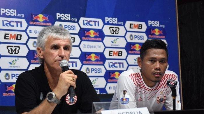 Pelatih Persija Jakarta, Ivan Kolev Gelisah Jelang Laga Kontra Becamex Binh Duong