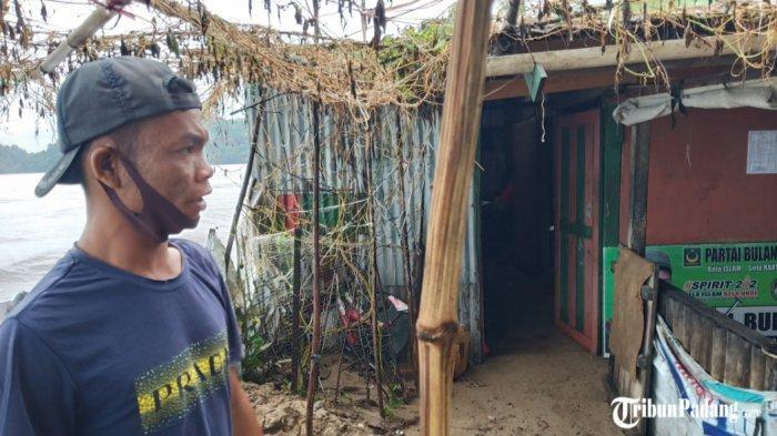 BREAKING NEWS: Gelombang Pasang Hantam 10 Rumah Warga di Kelurahan Air Manis, Kota Padang