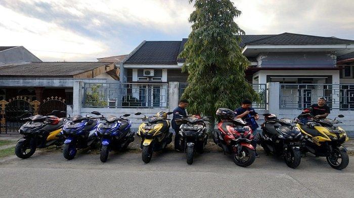 Yuk! Intip Semaraknya Komunitas Aerox Rider Club Indonesia (ARCI) Padang Chapter