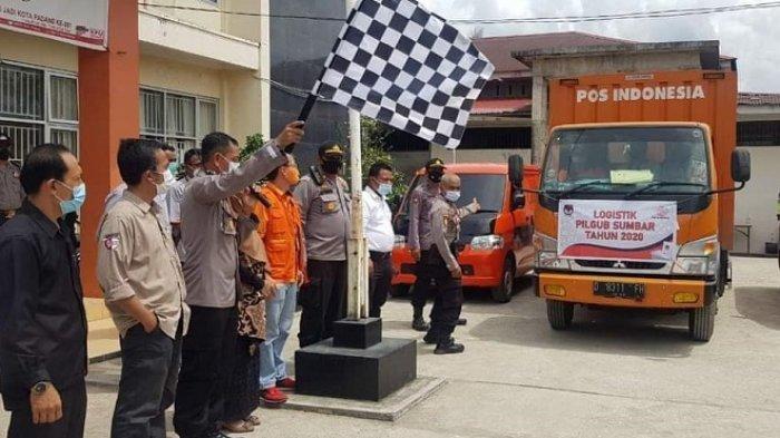 H-2 Pemungutan Suara Pilgub Sumbar, KPU Padang Distribusikan Logistik ke 6 Kecamatan