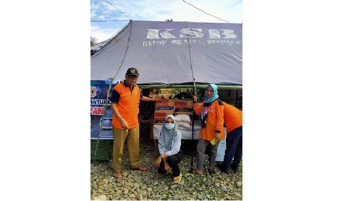 KSB Air Haji Barat Lakukan Penggalangan Dana untuk Korban Banjir Kecamatan Rahul, Pesisir Selatan