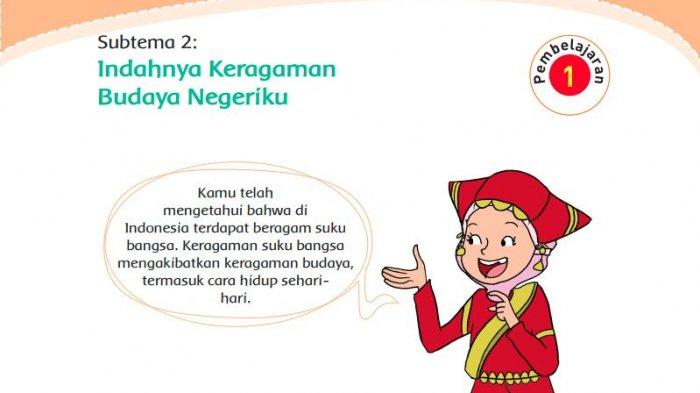 Kunci Jawaban Buku Tema 7 Kelas 4 SD/MI Halaman 51 52 53 55, Pembelajaran 1 Subtema 2