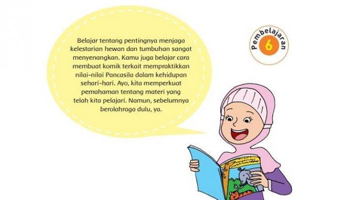 Kunci Jawaban Tema 1 Kelas 6 Sd Halaman 150 152 153 154 Buku Tematik Subtema 3 Pembelajaran 6 Tribun Padang