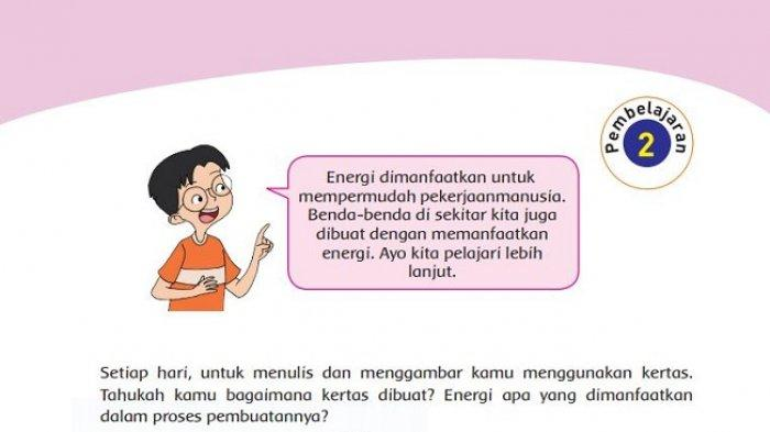 Kunci Jawaban Tema 2 Kelas 4 Sd Halaman 59 60 61 Pembelajaran 2 Subtema 2 Buku Tematik K13 Tribun Padang