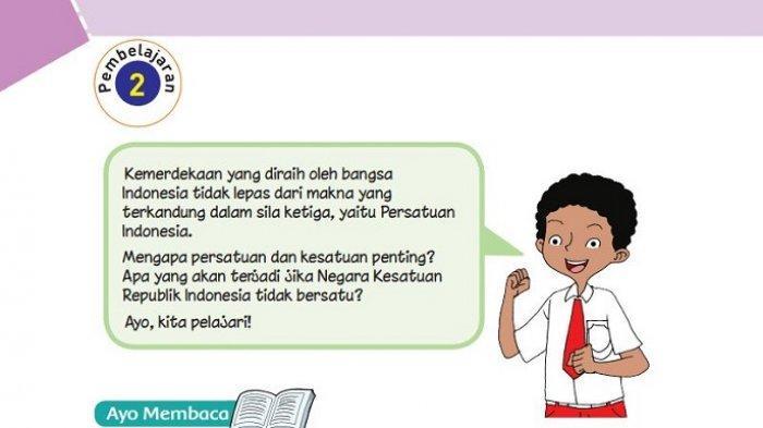 Kunci Jawaban Tema 2 Kelas 6 Halaman 53 54 55 58 60 61 Pembelajaran 2 Subtema 2 Buku Tematik Tribun Padang