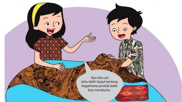 Kunci Jawaban Tema 4 Kelas 6 Halaman 11-20, Ayah Hanni Menggunakan Reklame untuk Produk Batiknya