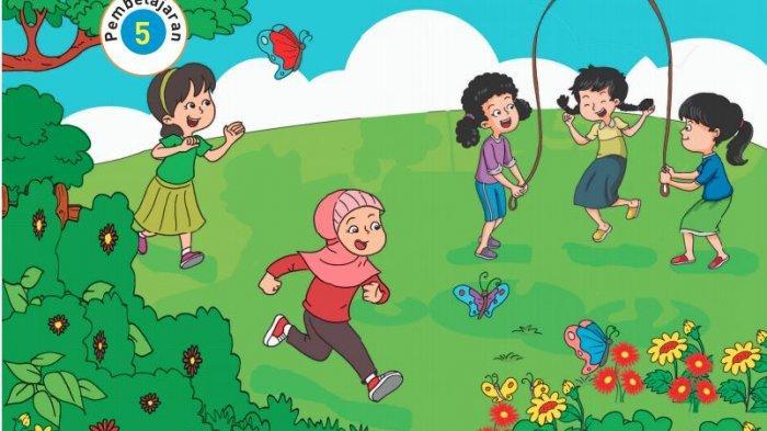 Tuliskan Kembali Peraturan Permainan Kupu-kupu di Taman Bunga, KUNCI JAWABAN Tema 6 Kelas 2 Hal 141