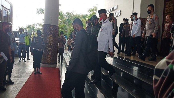 Dikunjungi Kapolri dan Panglima TNI, Walikota Padang Paparkan Kondisi Terkini Penanganan Covid-19
