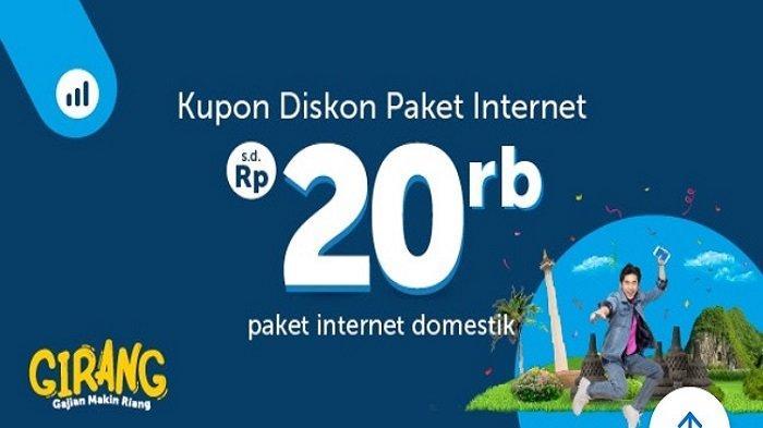 Kupon Diskon Paket Internet Domestik Hingga Rp 20 Ribu dari Traveloka