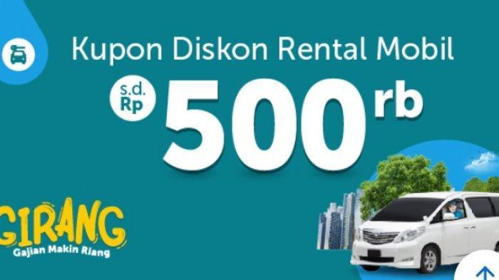Promo Kupon Diskon Rental Mobil dari Traveloka Hingga Rp 500 Ribu di Destinasi Seluruh Indonesia