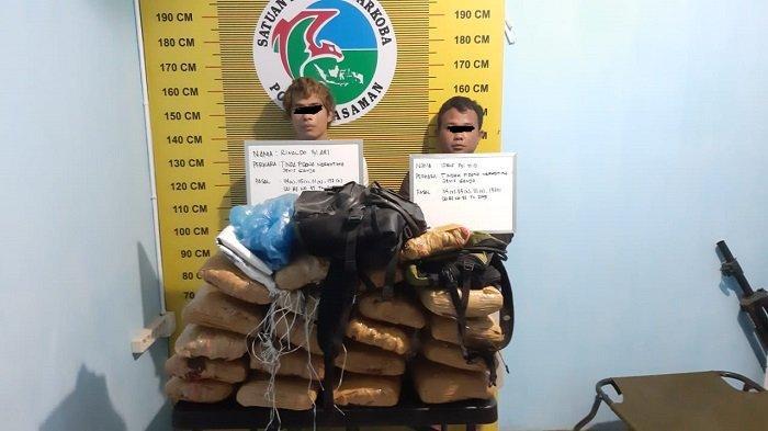 Pihak Kepolisian Lakukan Pengembangan Terkait Sitaan 2 Karung Ganja Kering di Kabupaten Pasaman
