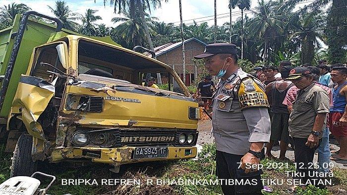 Lakalantas Maut di Jalan Tanjung Mutiara, Agam: Tiga Kendaraan Terlibat Tabrakan, Renggut Dua Nyawa