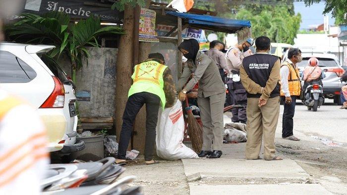 Tim Gabungan Satpol PP dan Polresta Padang, Tindak 23 Pelanggar Protokol Kesehatan