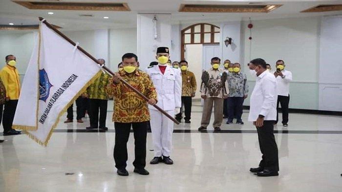 Syahrial Bakhtiar Dikukuhkan Sebagai Ketua, Ikatan Sarjana Olahraga Indonesia Periode 2021-2025