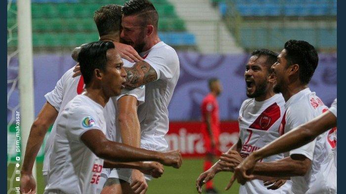 PSM Makassar Juara Grup H, Hasil Menang Besar Atas Lao Toyota FC Skor 3-0