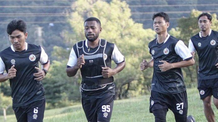 Intip Latihan Tim Semen Padang FC, Weliansyah Sebut Berlatih Cross Country dan Endurance Straight