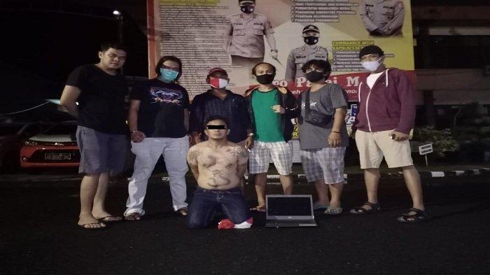 Pencuri di Musala Kota Padang Dipergoki Masyarakat, Ternyata Masih Incar Rumah Warga