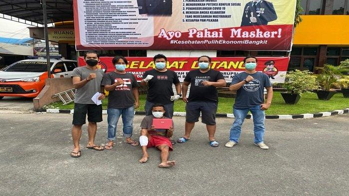 Terduga Pencuri di 19 TKP Kota Padang Tak Berkutik, Tim Klewang Lepaskan Pelor di Kaki Pelaku