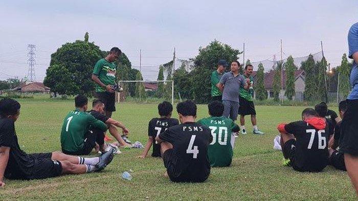 PSMS Medan Ditinggal Pergi Pelatih Fisik, Tim Ayam Kinantan Pertahankan Gomes de Oliveira