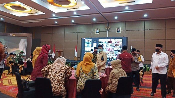 MTQ Nasional XXVIII di Sumatera Barat Resmi Diluncurkan Menag RI Fachrul Razi Secara Virtual