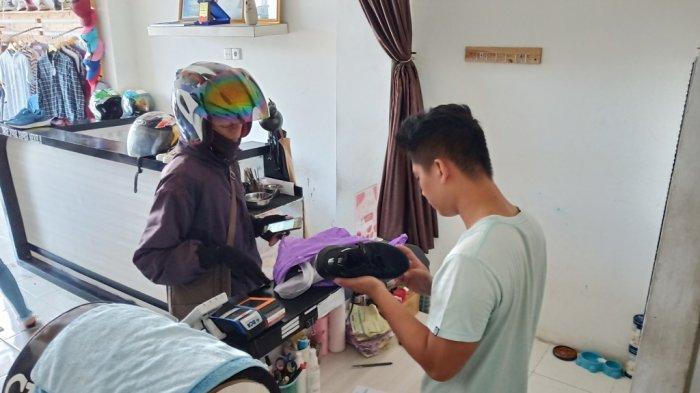 Laundry Sepatu di Padang Nirwana Clean Jalan Juanda Flamboyan Baru Padang