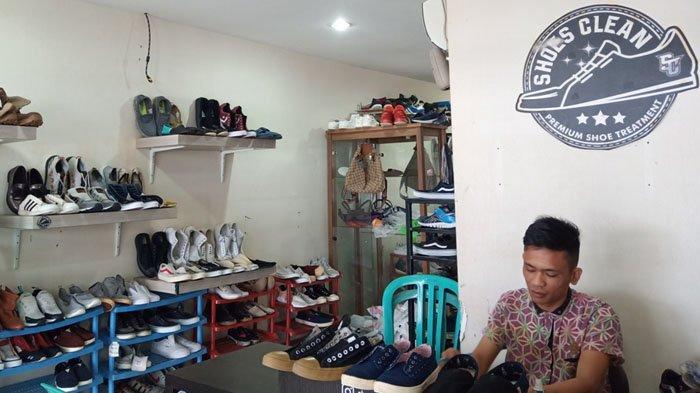 Laundry Sepatu di PadangShoes Clean Tawarkan Jasa Repaint hingga Repair, Harga Mulai Rp 25 Ribu