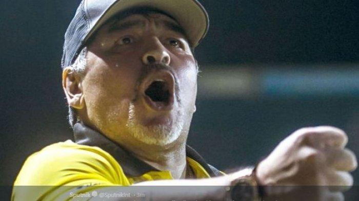 Diego Maradona; Si Pencetak Gol 'Tangan Tuhan' Tutup Usia, Ini Kisah Kontroversial Gol Sang Legenda