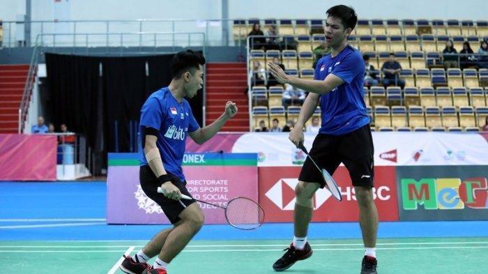 Leo/Daniel Tampil Impresif Lolos ke Semifinal, Pertontonkan Daya Juang Lawan Ellis/Langride