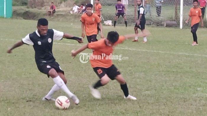 Semen Padang FC Libas SKO Sumbar Skor 3-1, Laga Uji Coba di Lapangan Mess Indarung Padang