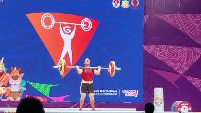 Lifter Mayang Sari Gagal Tambah Perolehan Medali Sumbar di PON XX Papua 2021
