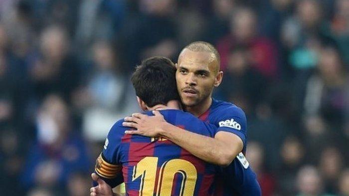 Martin Braithwaite Dikabarkan Ingin Pakai Nomor Punggung 10 Jika Lionel Messi Tinggalkan Barcelona