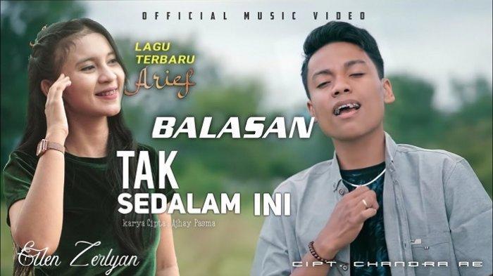 Lirik Lagu 'Balasan Lagu Tak Sedalam Ini' - Ellen Zerlyan feat Arief