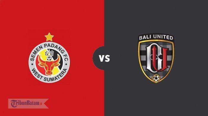 LIVE STREAMING Semen Padang Vs Bali United, Siaran Langsung Indosiar Mulai Pukul 15.30 WIB