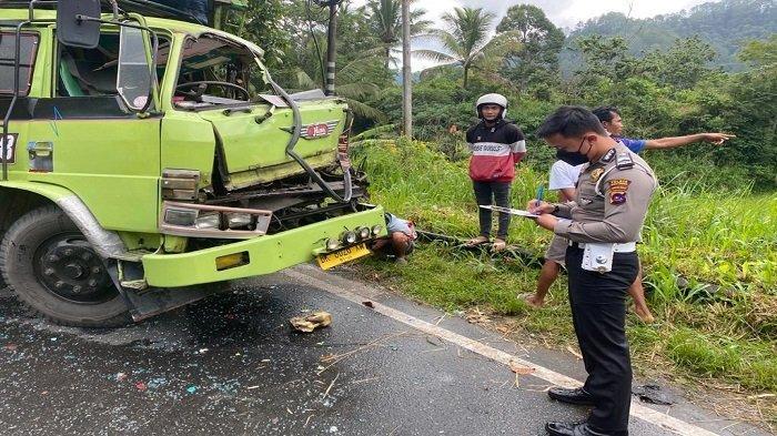 KRONOLOGI Kecelakaan Beruntun di Baso Kabupaten Agam, Polisi: Truk Sampah Berhenti di Pinggir Jalan