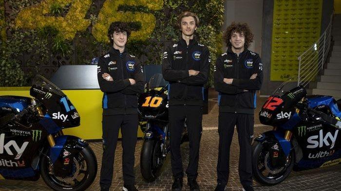 Pengin Tahu Motor Tim SKY Racing VR46 Besutan Valentino Rossi, Ada Luca Marini di Kelas Utama