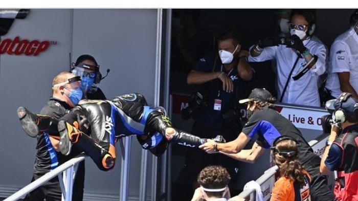 Luca Marini Ungkap Rencana Kakaknya, Valentino Rossi Pensiun: Ini Kata Pembalap Sky VR46 Avintia