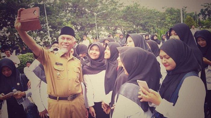 Wali Kota Padang Mahyeldi Izin Cuti Ikut Kampanye Capres 02 Siang Ini di Danau Cimpago Pantai Padang