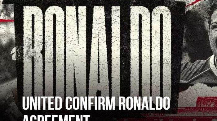 BREAKING NEWS RonaldoBerlabuh ke Man United: Tinggal Urusan Visa, Tes Medis, dan Teken Tandatangan