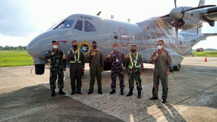 Pesawat Patroli Maritim Dikerahkan, Perkuat Operasi SAR 17 Kapal yang Hilang di Perairan Pontianak