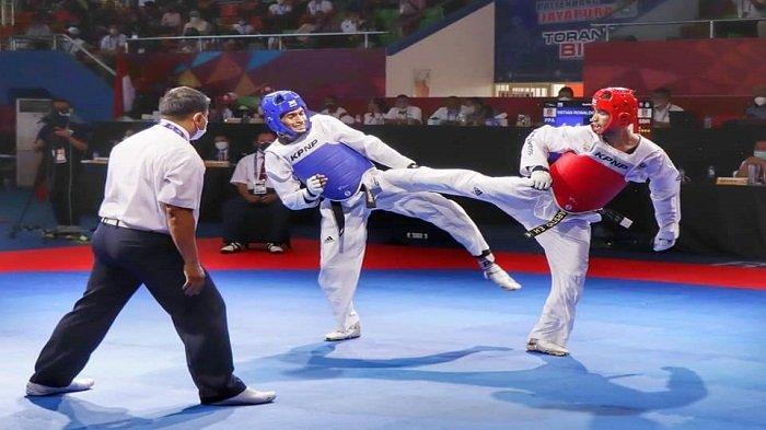 Taekwondoin Marstio Embrian Sumbangkan Perunggu, untuk Kontingen Sumatera Barat