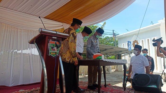 Makna NamaMasjid Baitul Auliya di Kantor Gubernur Sumbar yang Baru Diresmikan Irwan Prayitno