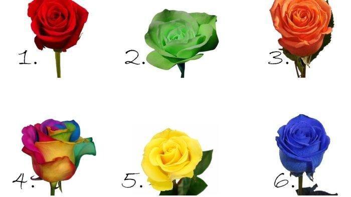 TES KEPRIBADIAN- Pilih Warna Mawar Kesukaan untuk Ungkap Pribadi dan Keistimewaanmu