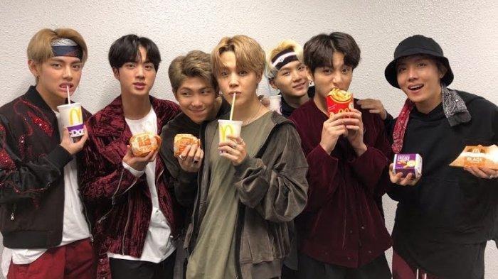 McDonald's Segera Rilis BTS Meal: Chicken McNugget, French Fries, Coke, dan Saus Plus Cajun Dipping