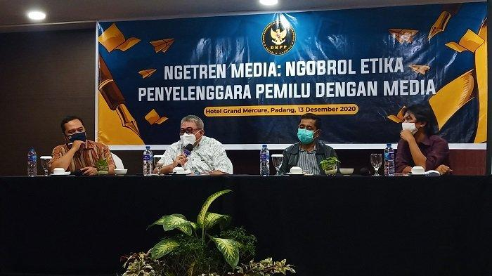 3 Anggota Bawaslu Dharmasraya Jalani Sidang Kode Etik, DKPP: Pengadu Tidak Hadir