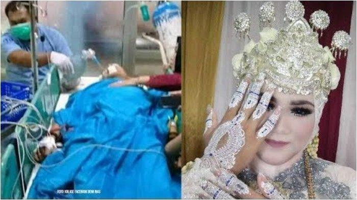 Mempelai Pria Tewas Kecelakaan, Pengantin Wanita Baru Tahu di Hari Pesta Pernikahannya