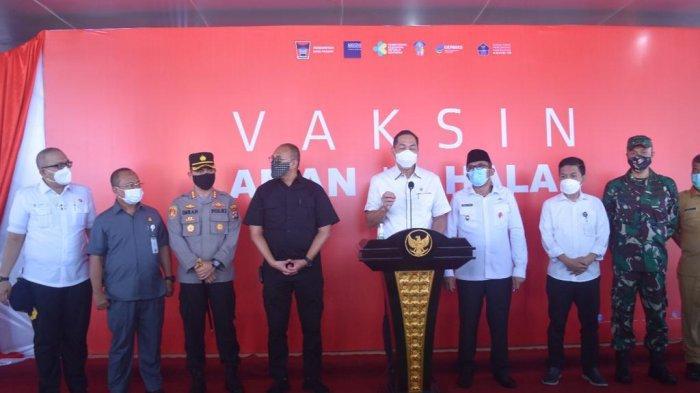 Mendag M Lutfi Apresiasi, Capaian 4000 Vaksin Pedagang Pasar Raya Kota Padang