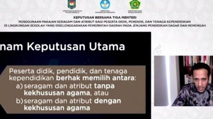 Dibatalkan MA Setelah Digugat LKAAM Sumbar, Apa Saja Isi SKB 3 Menteri Soal Seragam Sekolah?
