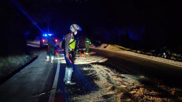 UPDATE Akses Lalu Lintas Jalan Raya Padang-Painan Kembali Lancar, Sempat Dilewati Satu Jalur